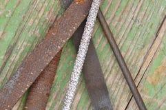 Παλαιό rasp εργαλείο Στοκ Φωτογραφία