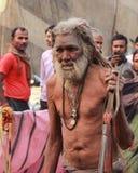 Παλαιό Sadhu. Στοκ Φωτογραφία