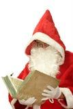 παλαιό santa βιβλίων Στοκ φωτογραφία με δικαίωμα ελεύθερης χρήσης
