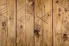 Παλαιό shabby ξύλινο υπόβαθρο Στοκ Εικόνες