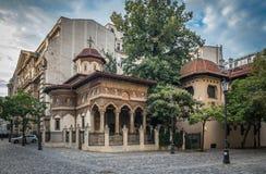 Παλαιό ST Michael και εκκλησία του Gabriel στο Βουκουρέστι, Ρουμανία στοκ εικόνες