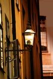 Παλαιό streetlamp μετάλλων Στοκ Εικόνες