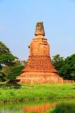 Παλαιό stupa τούβλου Στοκ φωτογραφίες με δικαίωμα ελεύθερης χρήσης