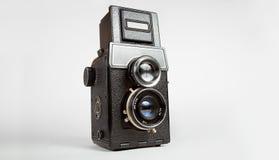 παλαιό tlr φωτογραφικών μηχα&n Στοκ εικόνες με δικαίωμα ελεύθερης χρήσης