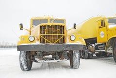 παλαιό truck κίτρινο Στοκ φωτογραφίες με δικαίωμα ελεύθερης χρήσης