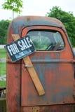 παλαιό truck πώλησης Στοκ Εικόνες