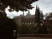 παλαιό vltava ταξιδιού ποταμών της Πράγας φωτογραφιών της Ευρώπης κάστρων στοκ φωτογραφίες