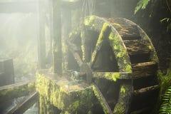 Παλαιό Watermill από την ομίχλη Στοκ εικόνες με δικαίωμα ελεύθερης χρήσης
