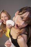 παλεύοντας γυναίκες Στοκ φωτογραφίες με δικαίωμα ελεύθερης χρήσης