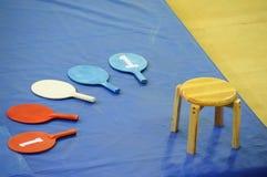 Παλεύοντας χαρτόνι αποτελέσματος, κάθισμα του διαιτητή στοκ φωτογραφία με δικαίωμα ελεύθερης χρήσης