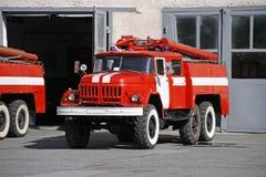 παλεύοντας όχημα πυρκαγ&iota Στοκ φωτογραφίες με δικαίωμα ελεύθερης χρήσης