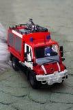 παλεύοντας όχημα πυρκαγ&iota στοκ φωτογραφία με δικαίωμα ελεύθερης χρήσης