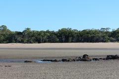 Παλιρροιακά επίπεδα ποταμών στοκ φωτογραφία με δικαίωμα ελεύθερης χρήσης