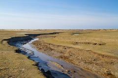 Παλιρροιακός κολπίσκος ελιγμού στοκ φωτογραφίες με δικαίωμα ελεύθερης χρήσης
