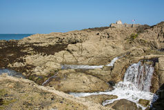 Παλιρροιακό νησί Στοκ φωτογραφία με δικαίωμα ελεύθερης χρήσης