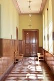 παλιό σχολείο διαδρόμων Στοκ φωτογραφία με δικαίωμα ελεύθερης χρήσης
