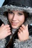παλτό που φορά τη χειμερινή στοκ φωτογραφία με δικαίωμα ελεύθερης χρήσης