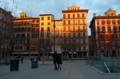 Παμπλόνα, Ναβάρρα, βασκική χώρα, Ισπανία, βόρεια Ισπανία, ιβηρική χερσόνησος, Ευρώπη Στοκ φωτογραφίες με δικαίωμα ελεύθερης χρήσης