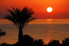 Πανέμορφη ανατολή πέρα από τη θάλασσα στοκ φωτογραφία με δικαίωμα ελεύθερης χρήσης