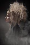 πανέμορφη γυναίκα τριχώματ&omi Στοκ φωτογραφία με δικαίωμα ελεύθερης χρήσης
