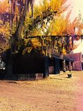 Πανέμορφη ημέρα πτώσης Στοκ φωτογραφίες με δικαίωμα ελεύθερης χρήσης