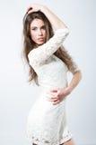 Πανέμορφο μοντέρνο κορίτσι Στοκ φωτογραφία με δικαίωμα ελεύθερης χρήσης