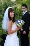 πανέμορφος γάμος ζευγών Στοκ εικόνα με δικαίωμα ελεύθερης χρήσης