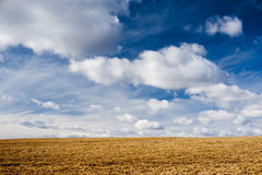 πανέμορφος ουρανός οριζό&n Στοκ Φωτογραφία