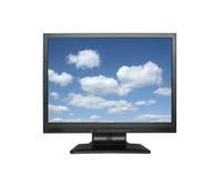 πανέμορφος ουρανός LCD ευρέ& Στοκ φωτογραφία με δικαίωμα ελεύθερης χρήσης