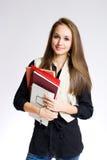 πανέμορφος σπουδαστής γυμνασίου στοκ φωτογραφίες