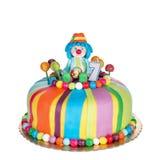 Πανέμορφο κέικ γενεθλίων για τα παιδιά Στοκ εικόνα με δικαίωμα ελεύθερης χρήσης