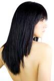 Πανέμορφο προκλητικό θηλυκό πρότυπο με το γυμνό πίσω σχεδιάγραμμα Στοκ φωτογραφία με δικαίωμα ελεύθερης χρήσης