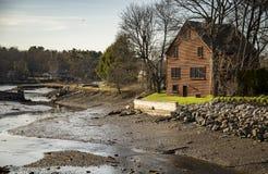 Πανέμορφο σπίτι της Νέας Αγγλίας στοκ εικόνες με δικαίωμα ελεύθερης χρήσης