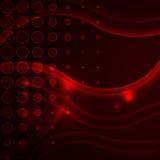Πανέμορφο δυναμικό κόκκινο υπόβαθρο διανυσματική απεικόνιση
