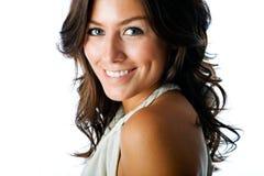 Πανέμορφο brunette Στοκ φωτογραφία με δικαίωμα ελεύθερης χρήσης