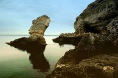 πανί βράχου Στοκ φωτογραφία με δικαίωμα ελεύθερης χρήσης