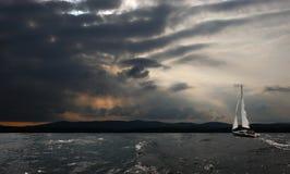 Πανί θύελλας Στοκ Εικόνα