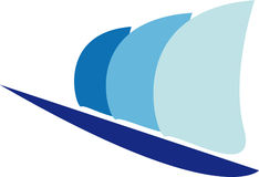 πανί λογότυπων Στοκ Εικόνες