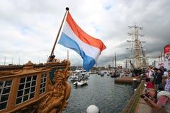 πανί του Άμστερνταμ Στοκ Εικόνα