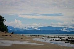 Παναμάς πέρα από τον κόλπο Puerto Jimenez στοκ φωτογραφίες
