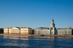 πανεπιστήμιο αναχωμάτων Στοκ Εικόνες