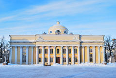 πανεπιστήμιο βιβλιοθηκώ&n στοκ εικόνα