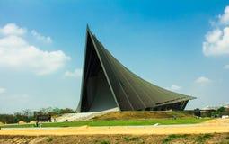 Πανεπιστήμιο δομών στεγών στην Ταϊλάνδη. Διανυσματική απεικόνιση