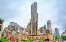 Πανεπιστήμιο ρυθμών στο Μανχάταν, πόλη της Νέας Υόρκης Στοκ φωτογραφίες με δικαίωμα ελεύθερης χρήσης