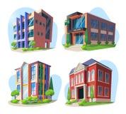 Πανεπιστήμιο, σχολείο, κολλέγιο και παιδικός σταθμός απεικόνιση αποθεμάτων