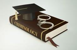 Πανεπιστήμιο, σχολή της εγκληματολογίας Στοκ φωτογραφία με δικαίωμα ελεύθερης χρήσης