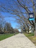 Πανεπιστήμιο της Βρετανικής Κολομβίας, Βανκούβερ Στοκ Εικόνα