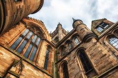 Πανεπιστήμιο της Γλασκώβης, Σκωτία Στοκ φωτογραφία με δικαίωμα ελεύθερης χρήσης