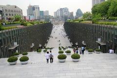 Πανεπιστήμιο της γυναίκας Ewha στη Σεούλ, Νότια Κορέα Στοκ Εικόνα