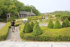 Πανεπιστήμιο της γυναίκας Ewha στη Σεούλ, Νότια Κορέα Στοκ φωτογραφία με δικαίωμα ελεύθερης χρήσης